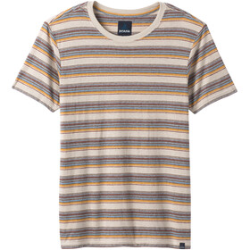 Prana Dustin Short Sleeve Crew Shirt Men toffee